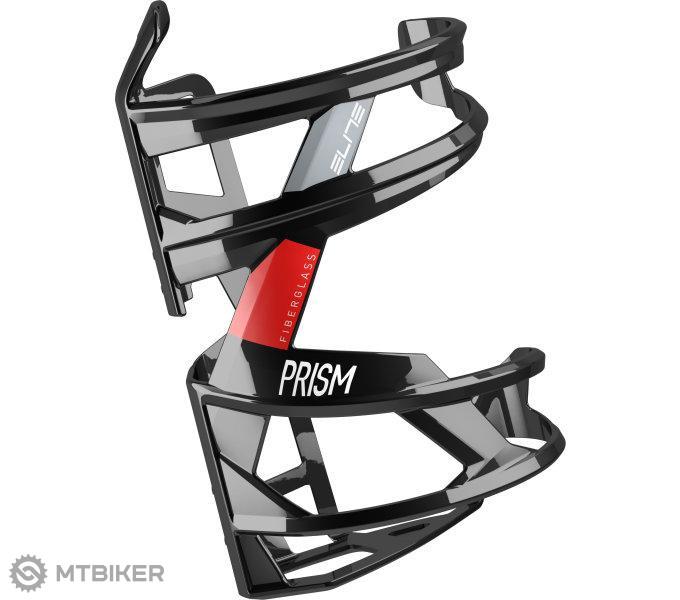 Elite košík PRISM R čierno/červený lesklý