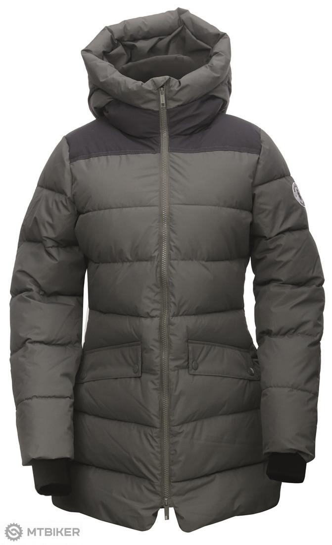 bf43f14a4 2117 of Sweden Björkas dámsky zateplený kabát tmavo sivý - MTBIKER Shop