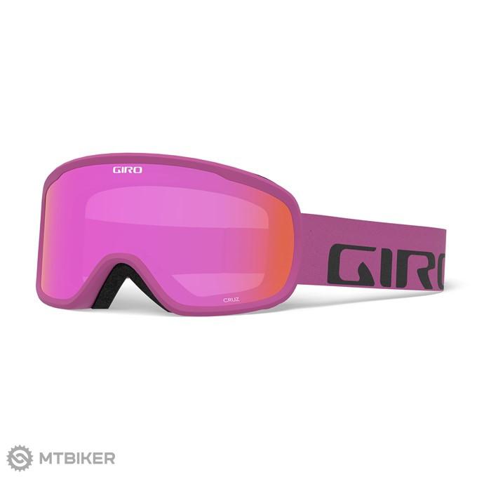 6bfc00860 GIRO Cruz Berry Wordmark Amber Pink lyžiarske okuliare - MTBIKER Shop