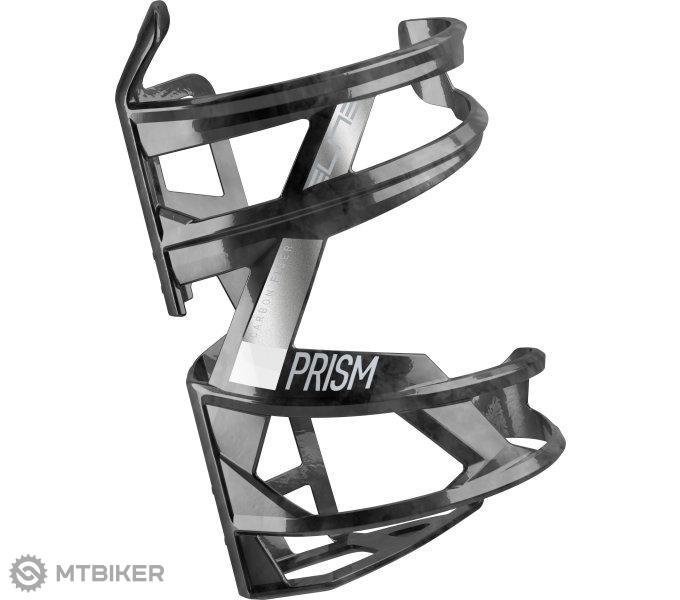 Elite košík PRISM R CARBON čierno /biely lesklý