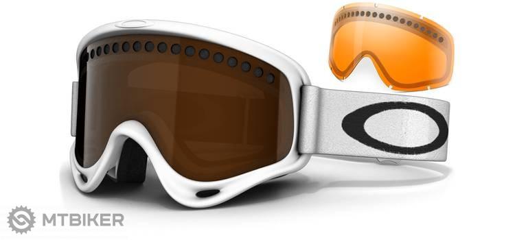 498ad86d0 Oakley O Frame lyžiarske okuliare - Matte White/ Black Iridium & Persimmon  ...