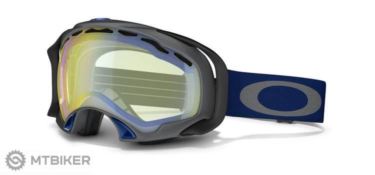 83ca7cb8f Oakley Splice lyžiarske okuliare - Gunmetal Grey W/Hi Yellow ...