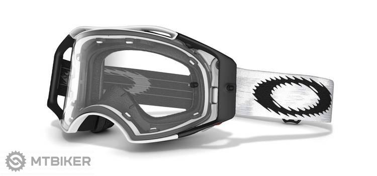 43a1641e1 ... Oakley Airbrake lyžiarske okuliare - Mx Matte White Speed w/Clear ...