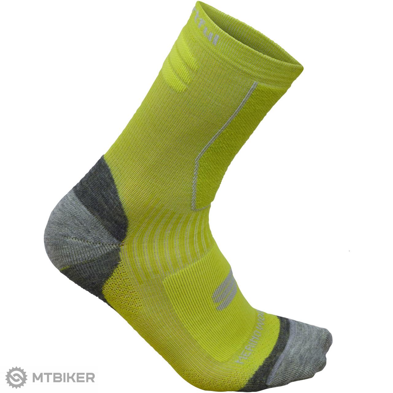 Sportful Merino Wool 16 ponožky fluo žltá