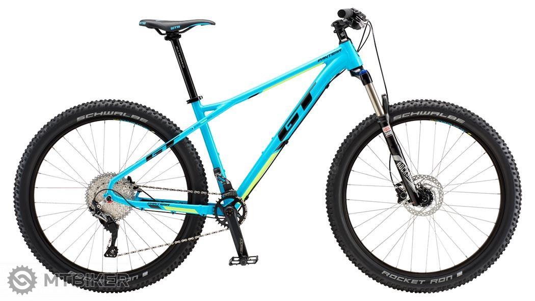 GT Pantera 27,5+ Elite 2019 blue horský bicykel