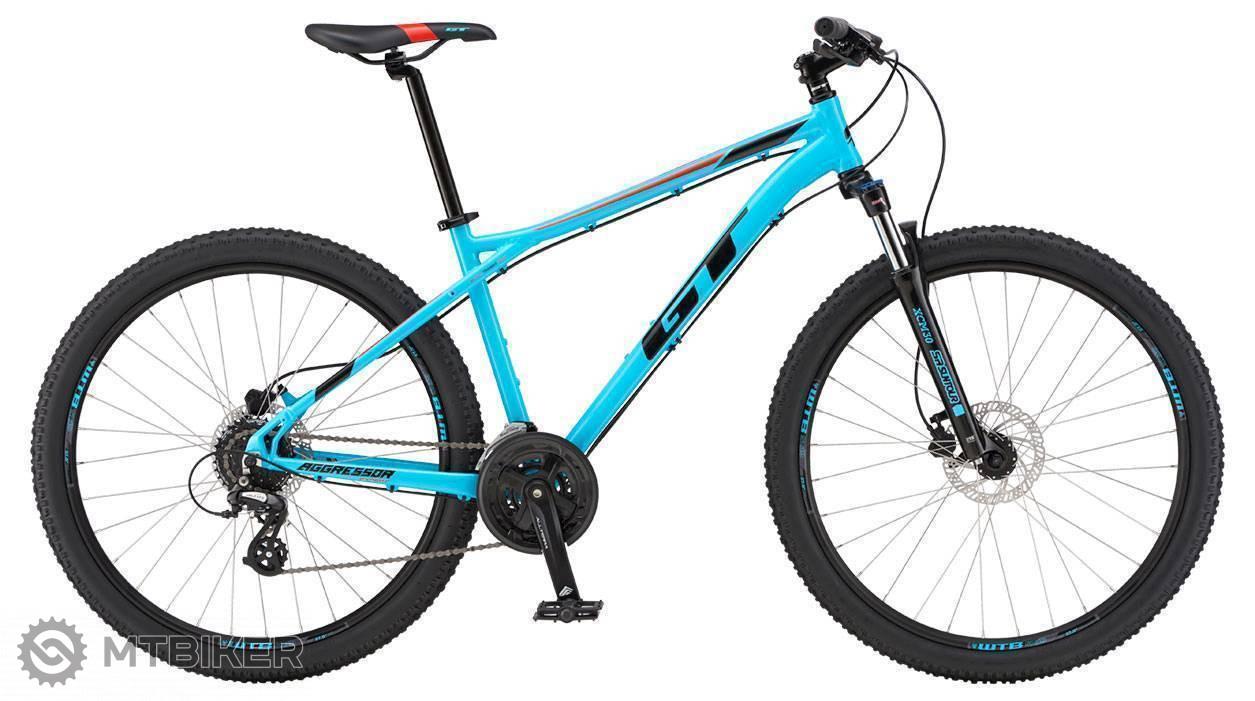 GT Aggressor 27,5 Expert 2019 AQU horský bicykel