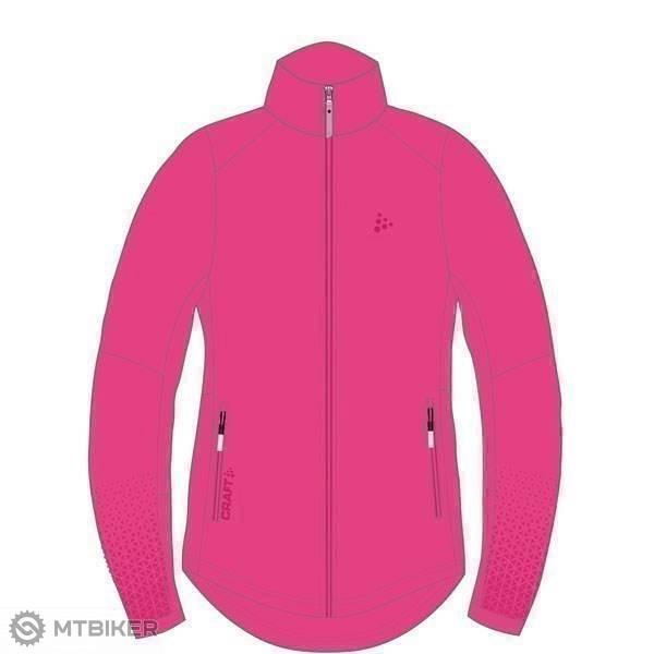 0fdb5c3f9 ... ružová Craft Bunda Warm Train - XS, ružová