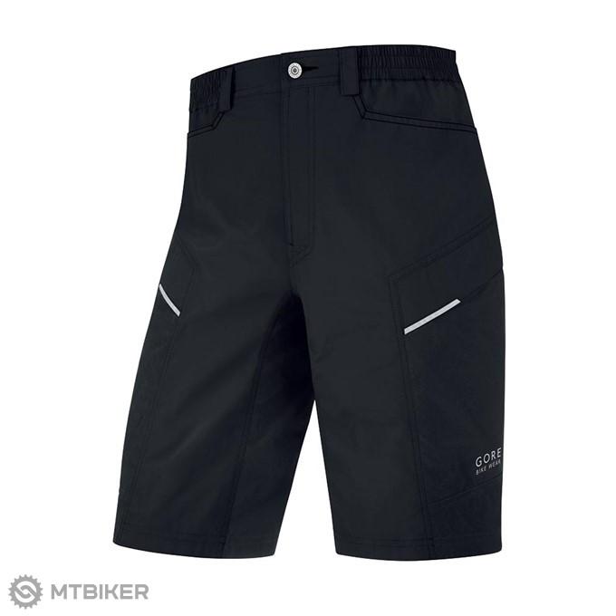 e3fff3cd9804 GORE Countdown 2.0 Shorts+ krátke nohavice black XL - MTBIKER Shop