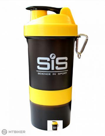 SiS shaker žlto/čierny 400ml
