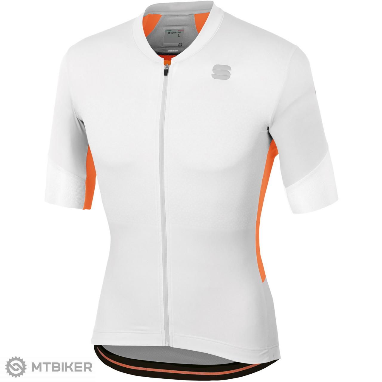3347f446b669 Sportful GTS dres biely svetlosivý oranžový - MTBIKER Shop