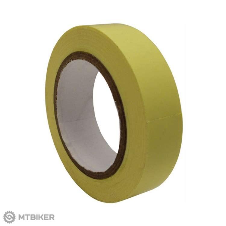 No Tubes páska do ráfikov, žltá 10y x 25mm (9.14m x 25mm)