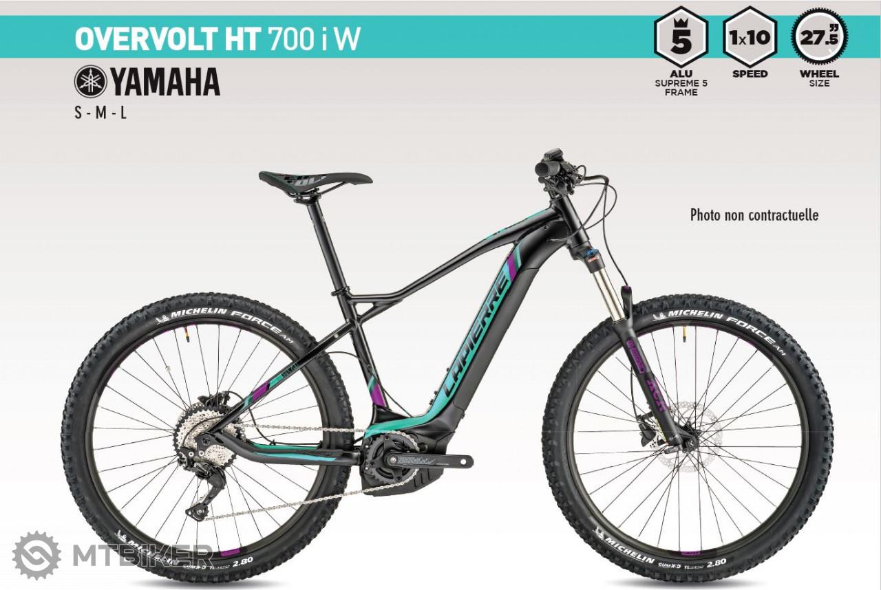 Lapierre OVERVOLT HT 700i W, model 2019