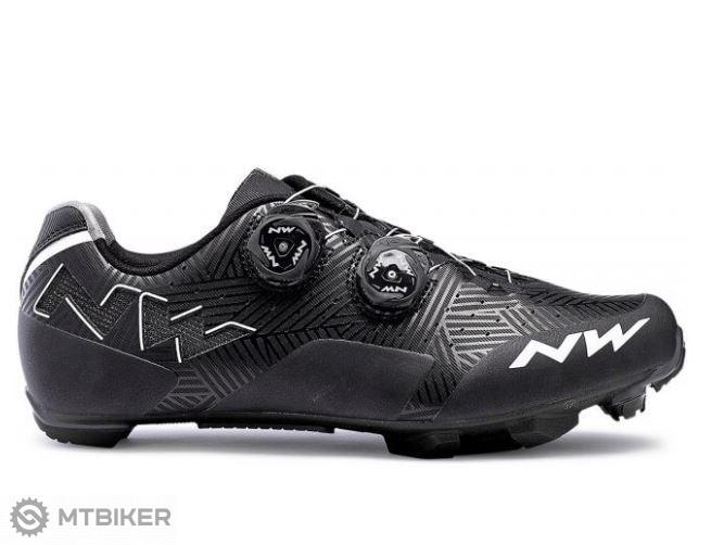 Northwave Rebel pánske MTB tretry čierne  biele - MTBIKER Shop 284e75b491d