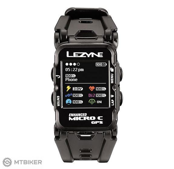 Lezyne Micro Color GPS Watch HR športové hodinky / navigácia