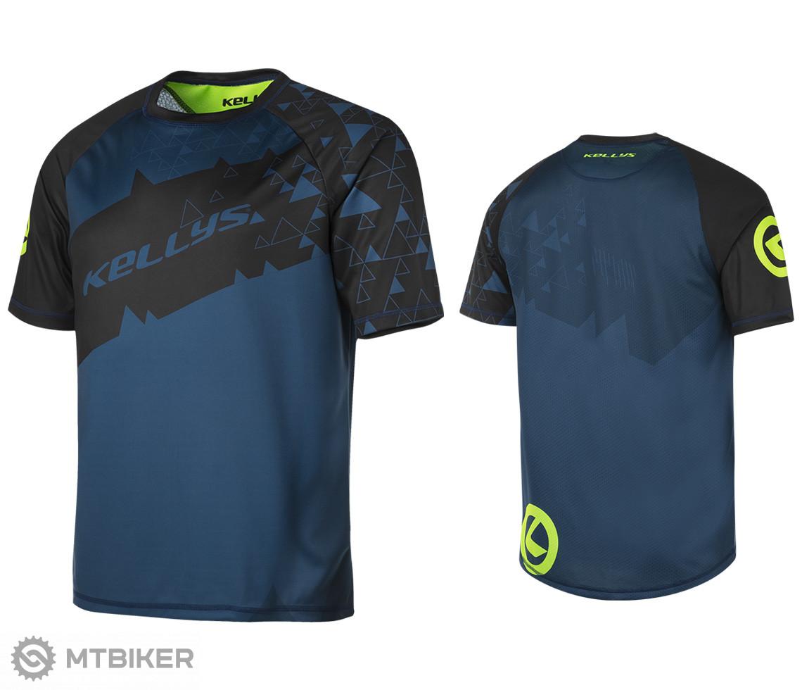 Kellys Enduro dres TYRION krátky rukáv blue