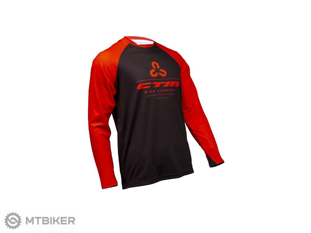 3ab5de88801b2 CTM Dres 2018 Enduro line, červená/čierna - MTBIKER Shop