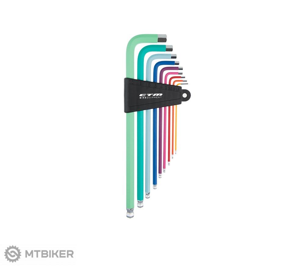 CTM Sada náradia HEX, sada farebných imbusových kľúčov