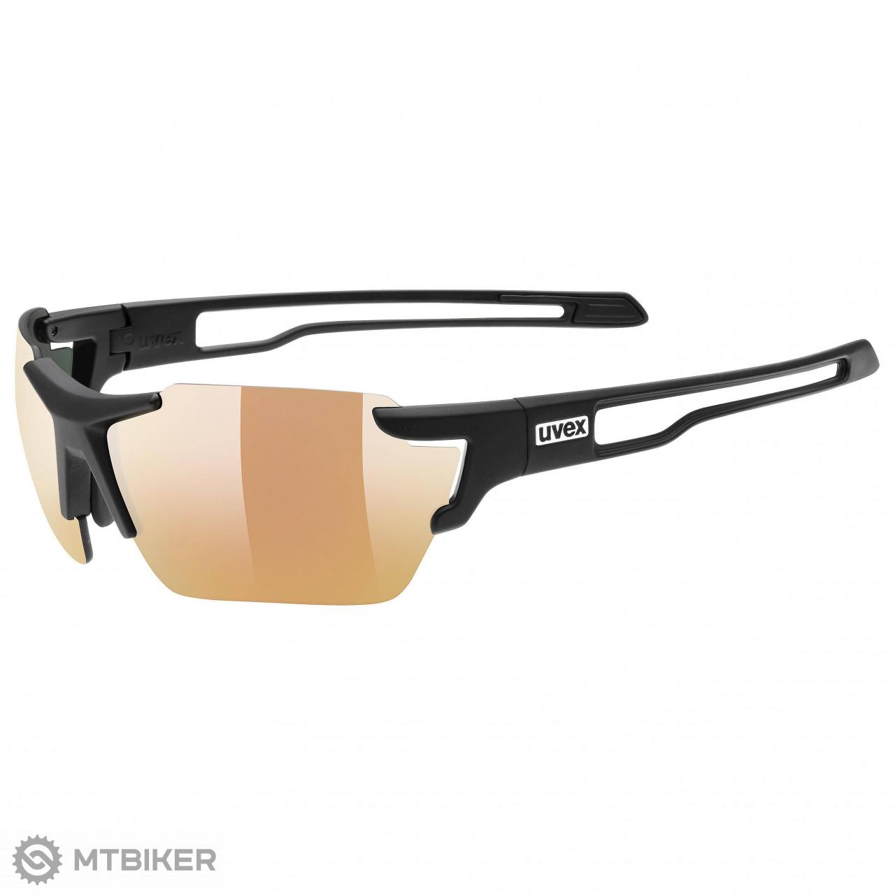 Uvex Sportstyle 803 colorvision vm small cyklistické okuliare čierne matné 4330b46275