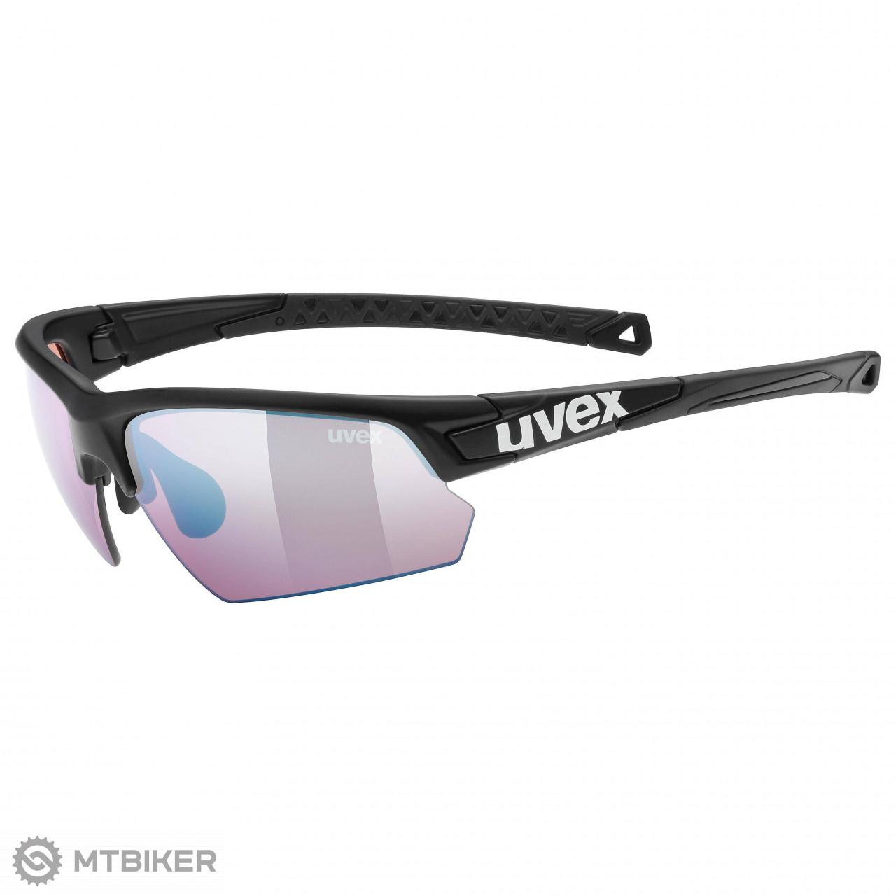 487ea474e Uvex Sportstyle 224 ColorVision športové okuliare čierne mat ...