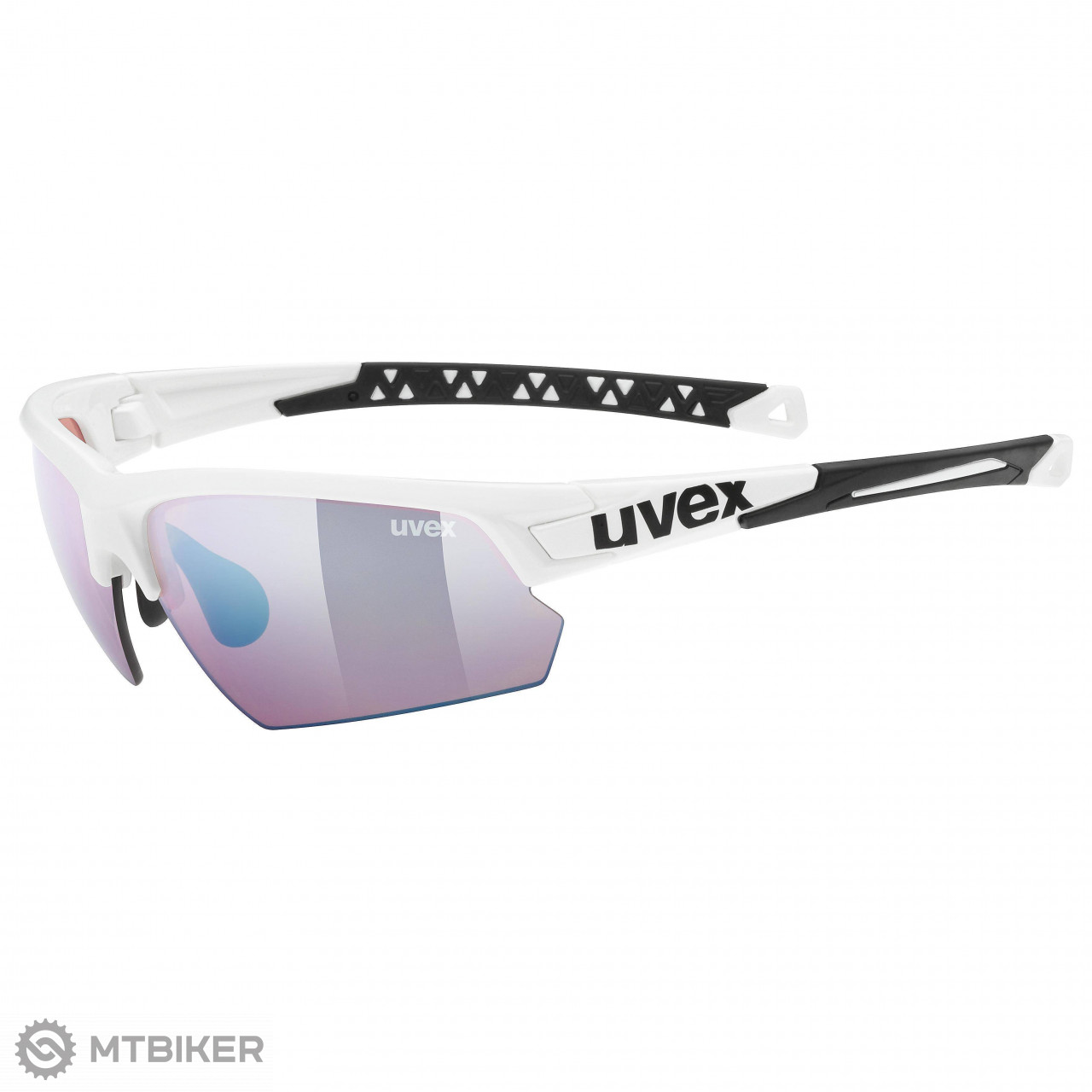 9c76c1376 Uvex Sportstyle 224 ColorVision športové okuliare biele - MTBIKER Shop