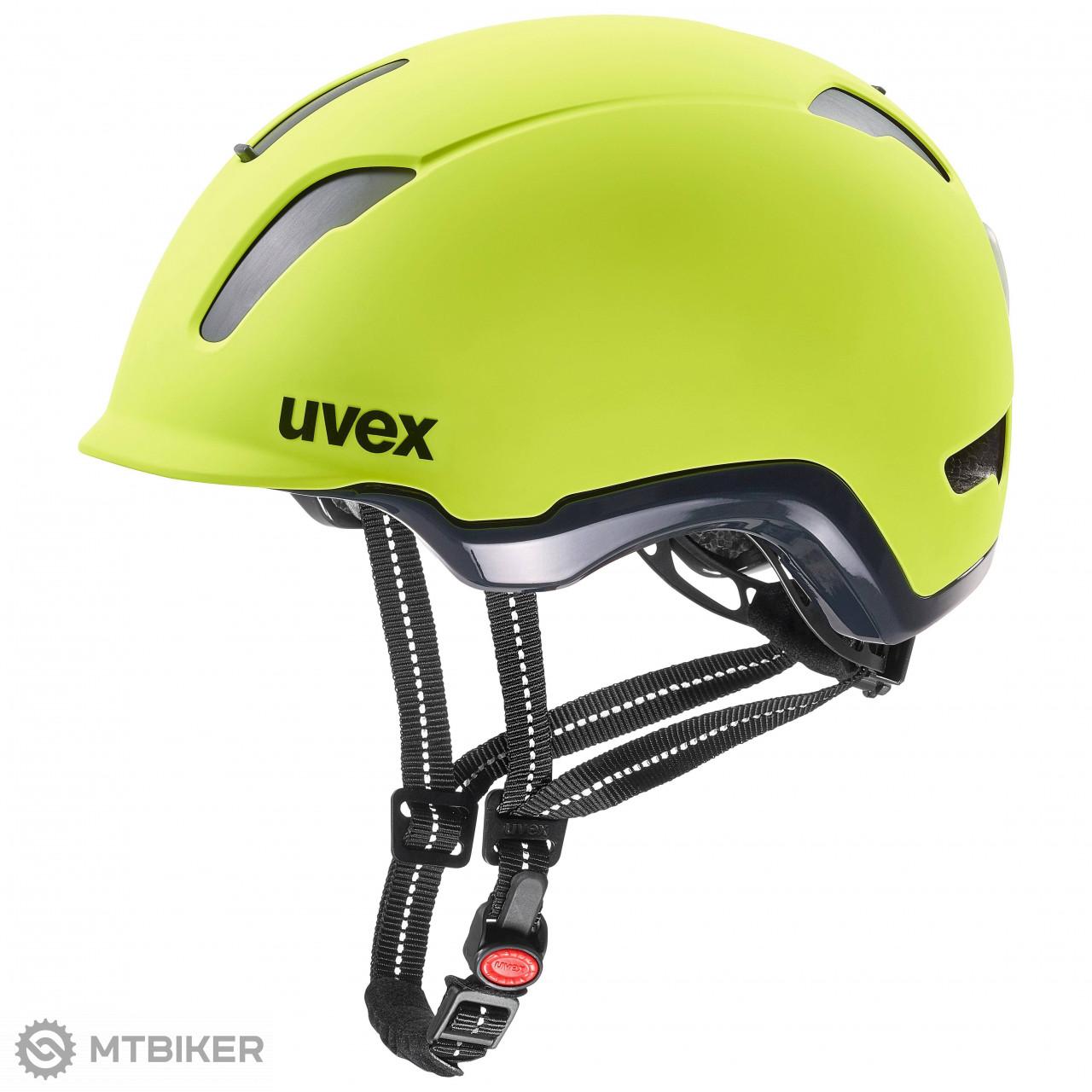 Uvex City 9 prilba neon žltá