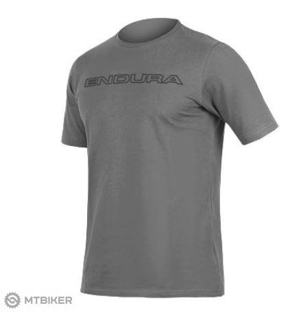 99e282129 Endura One Clan Carbon Icon T pánske tričko sivé - MTBIKER Shop