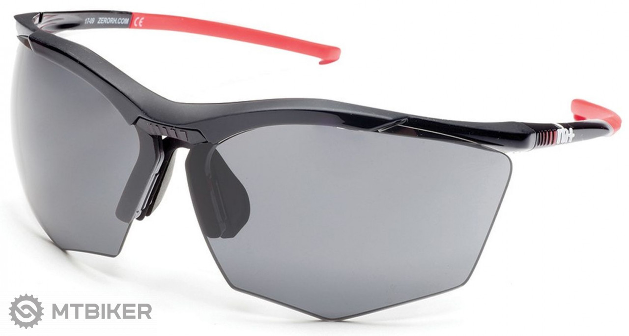Rh+ Super Stylus slnečné okuliare black/red, grey + orange lens