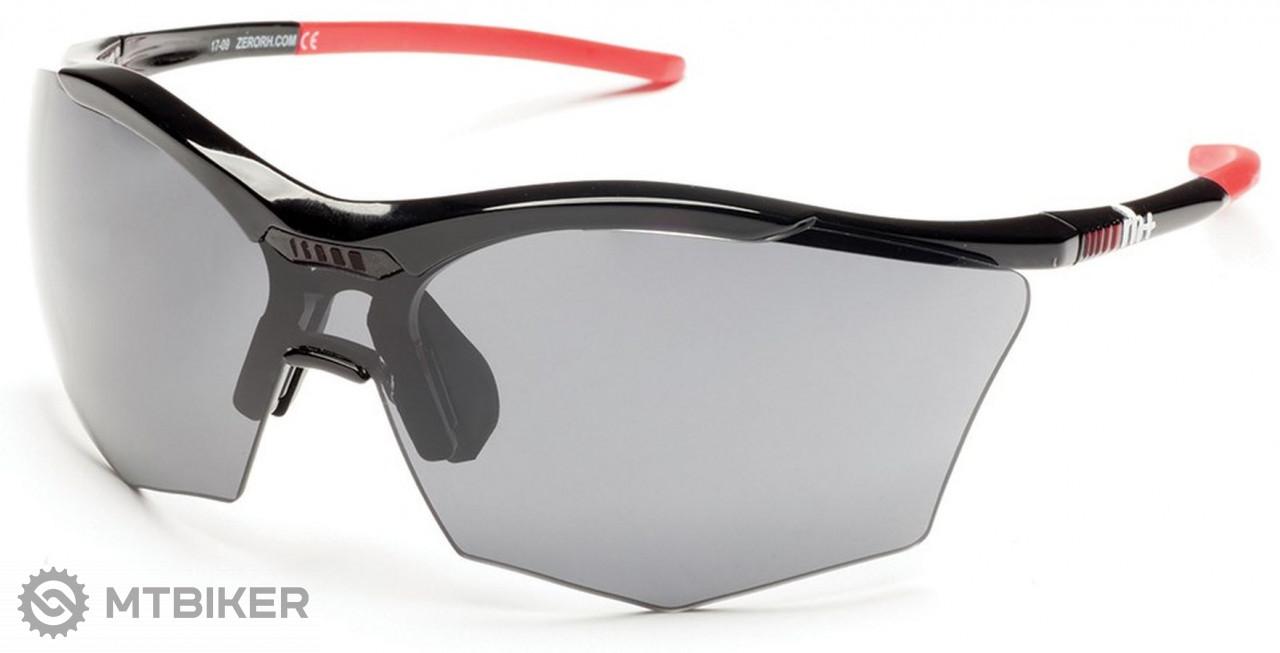 Rh+ slnečné okuliare Ultra Stylus, black/grey, grey+orange lens