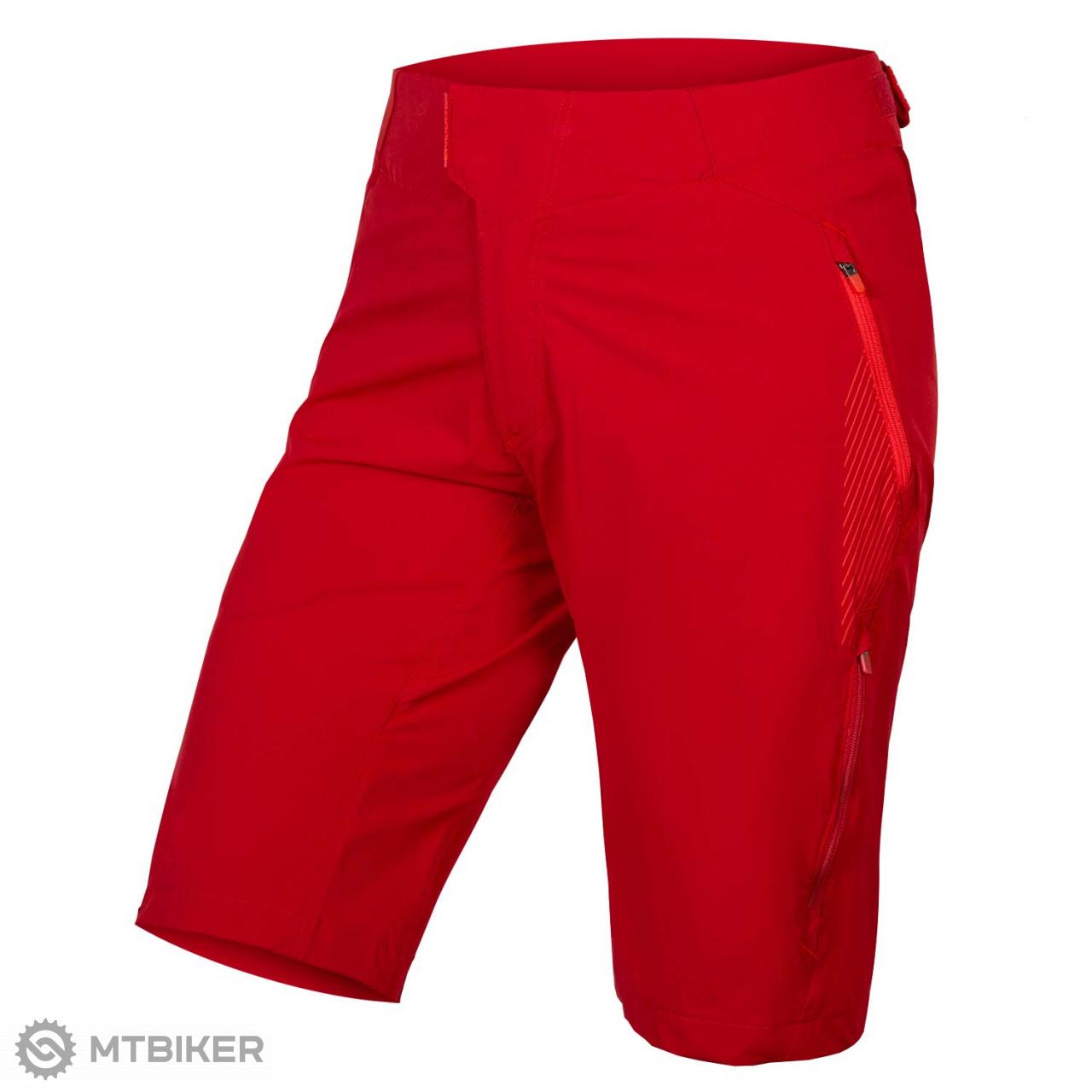 Endura Singletrack Lite II LTD dámske kraťasy rust red - MTBIKER Shop 396d44a529