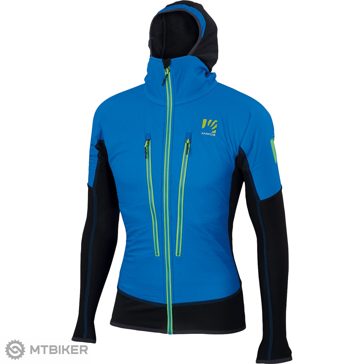 Karpos ALAGNA PLUS bunda modrá čierna - MTBIKER Shop 9f8ff016ff8