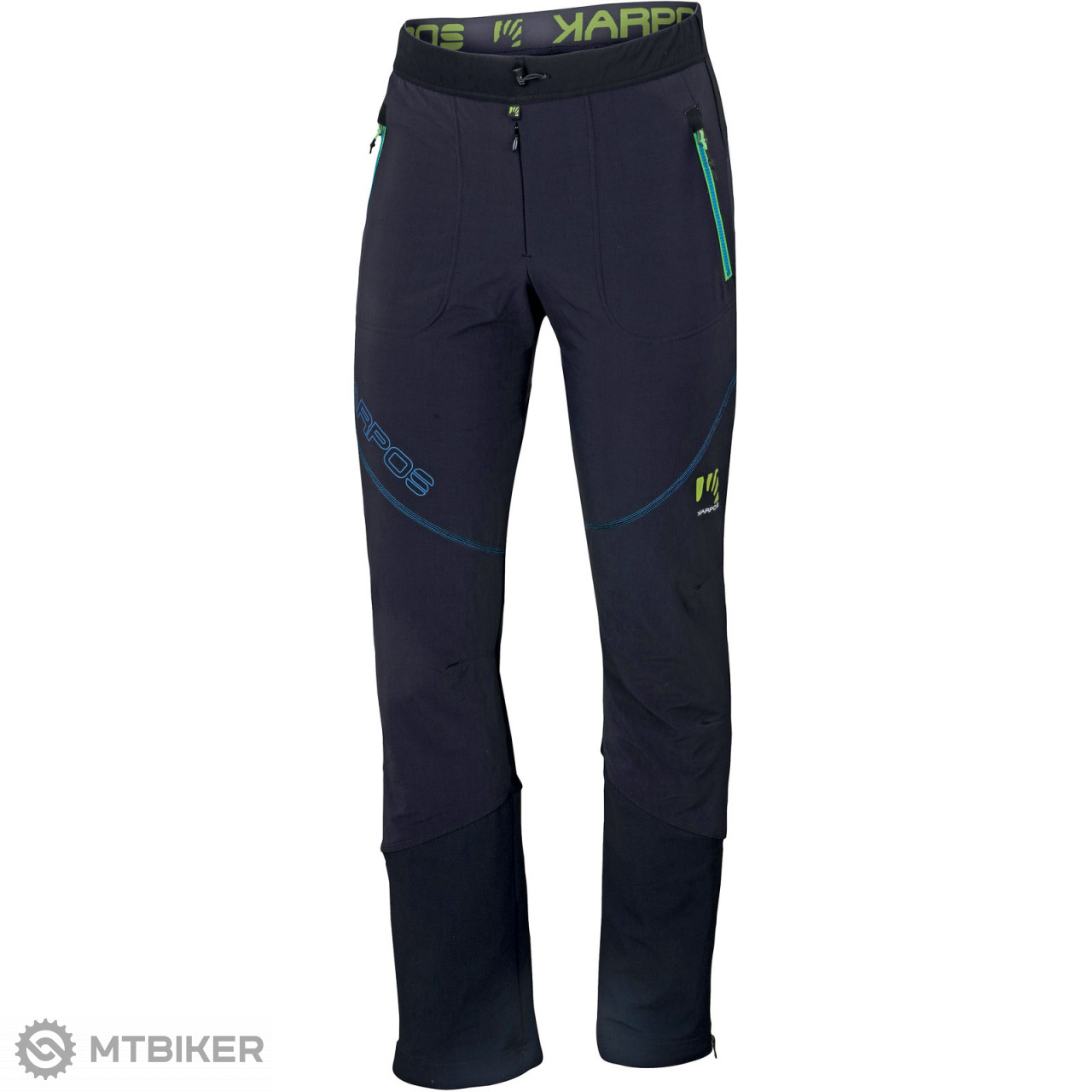 5093e7316e59 Karpos ALAGNA PLUS nohavice čierne modré - MTBIKER Shop