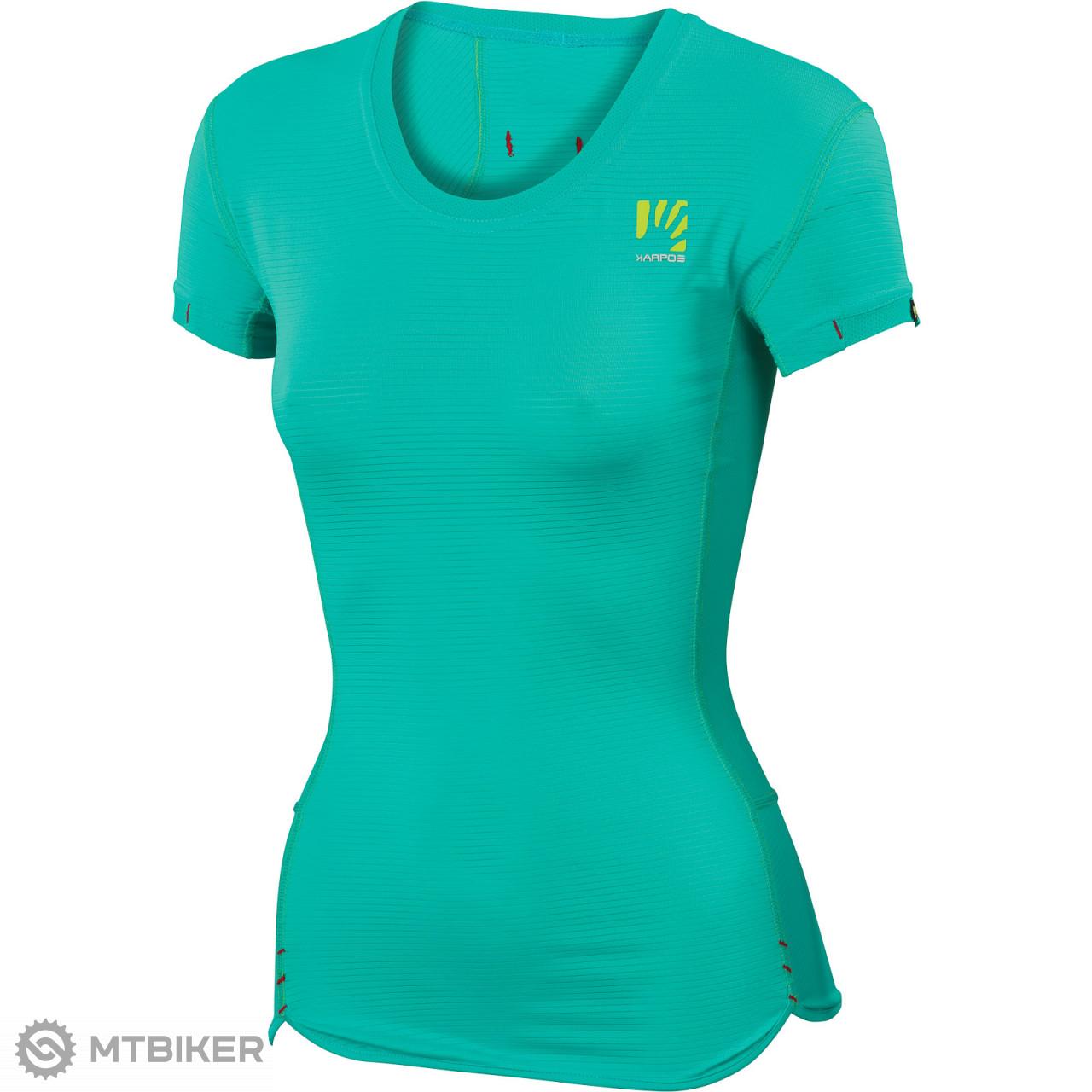 f3a10709722a6 Karpos BULL dámske tričko tyrkysové - MTBIKER Shop