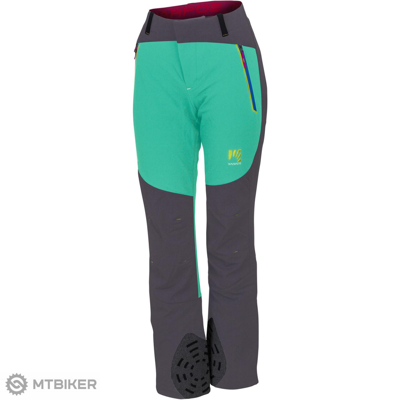 6340615ae231 Karpos EXPRESS 300 dámske nohavice svetlosmaragdové sivé - MTBIKER Shop