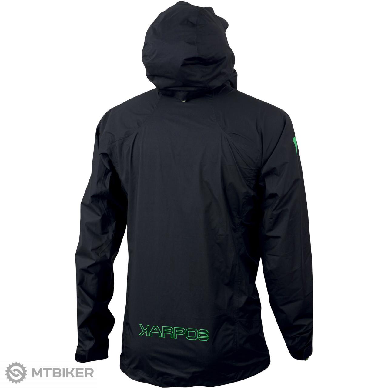Karpos LOT RAIN Highest bunda čierna - MTBIKER Shop 860f66a09b6