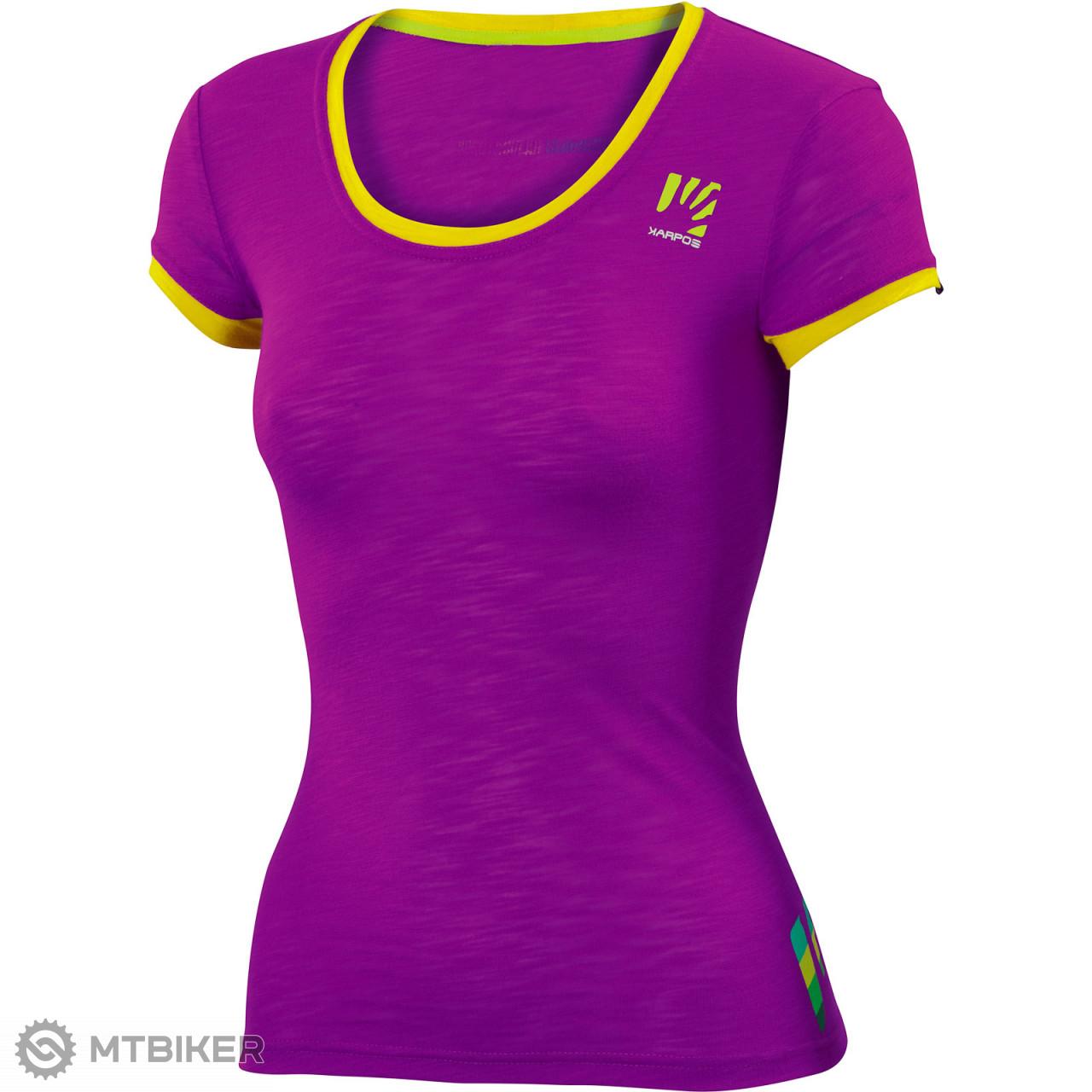 f1eb1f1080a85 Karpos PROFILI LITE dámske tričko cyklamenové - MTBIKER Shop