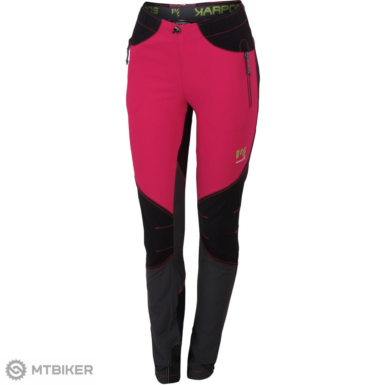 e4b4611a76c26 Karpos ROCK Dámske nohavice ružové/čierne/tmavosivé - MTBIKER Shop
