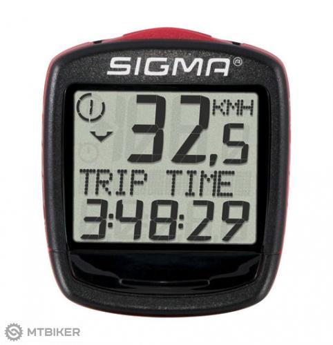 SIGMA Cyklocomputer 1200 Wireless Baseline 015 - bezkáblový