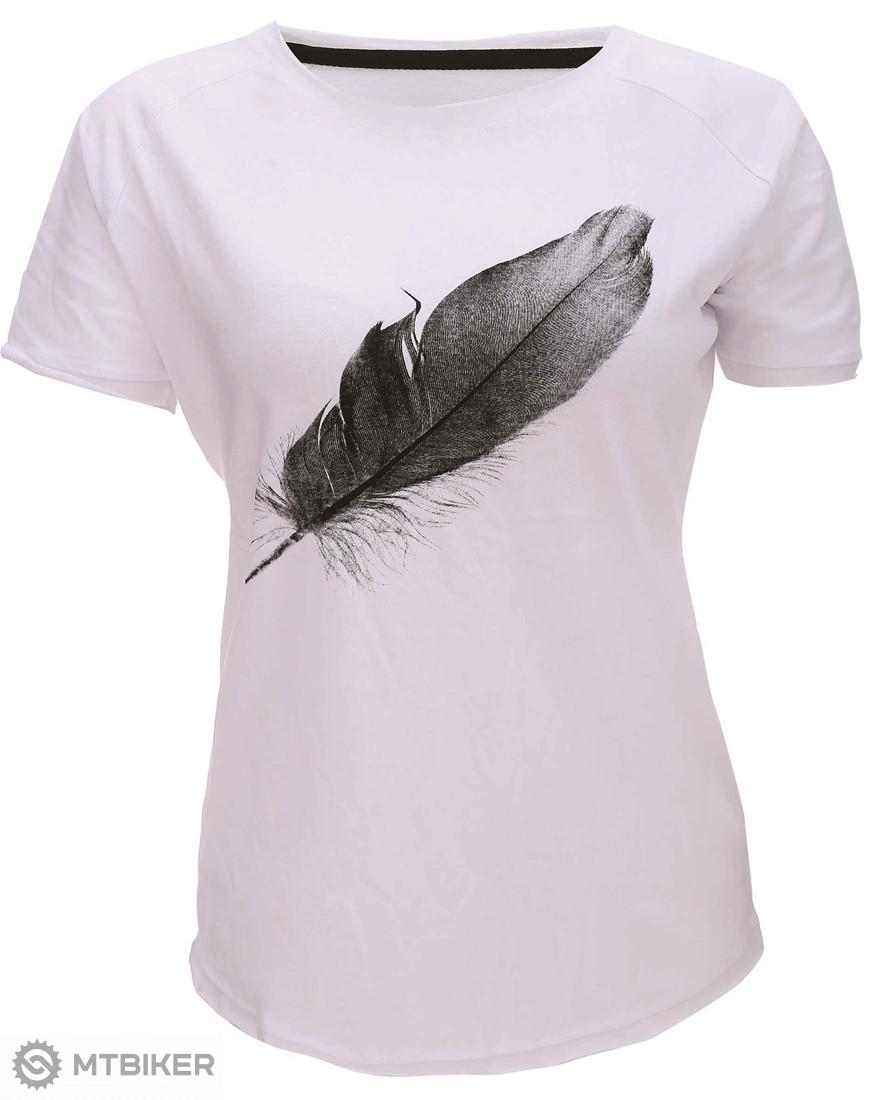 d2d028e32ff7 2117 of Sweden Apelviken dámske tričko krátky rukáv biela - MTBIKER Shop