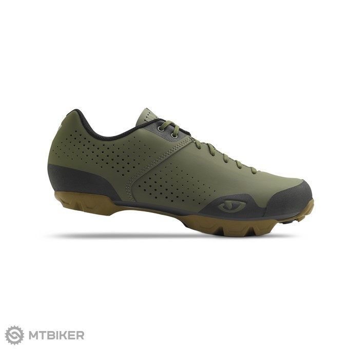 GIRO Privateer Lace Olive / Gum tretry