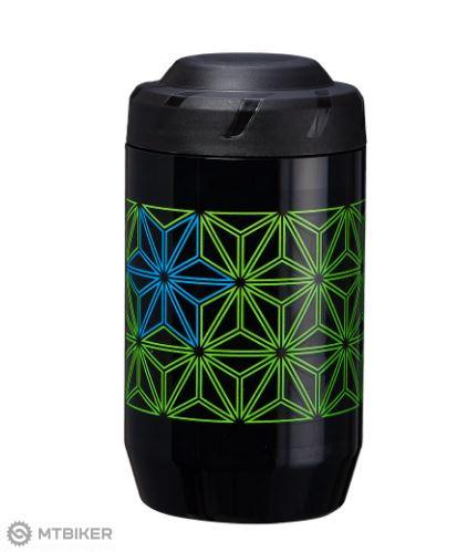 Supacaz Stasher puzdro na náradie Neon Green / Neon Blue