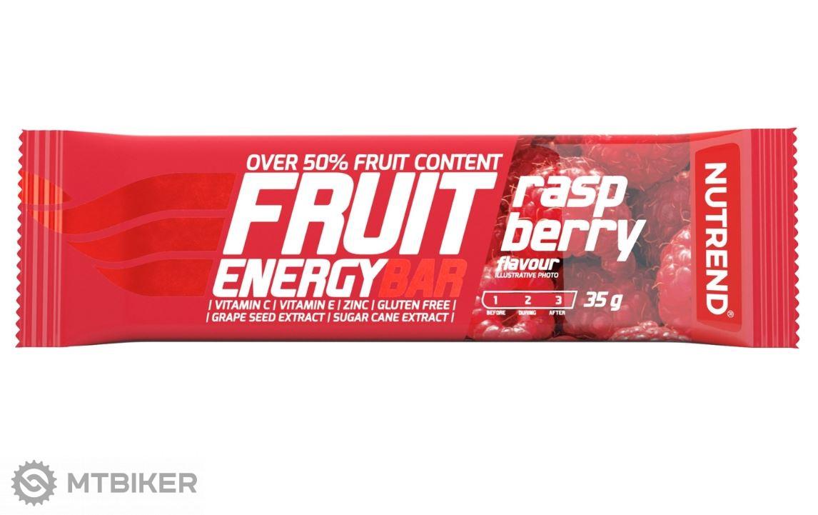 Nutrend Fruit Energy Bar tyčinka 35g malina