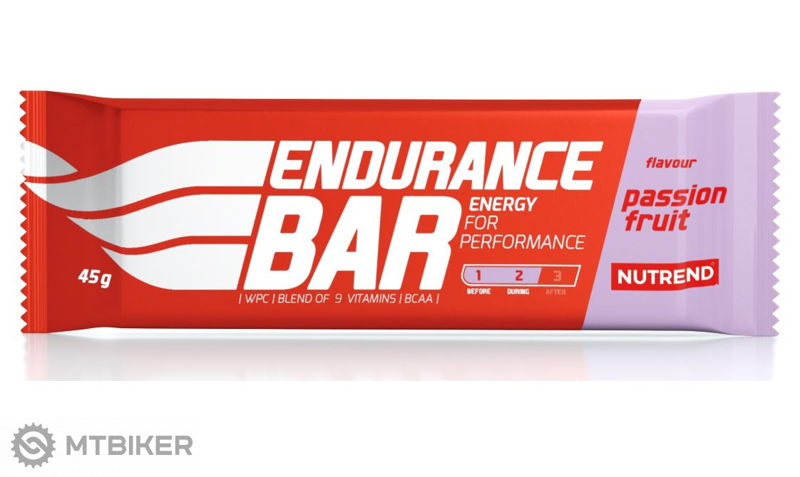 Nutrend Endurance Bar tyčinka 45g passionfruit