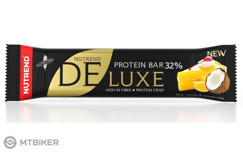 Nutrend Deluxe Protein Bar tyčinka 60g pomarančovo-kokosový koláč