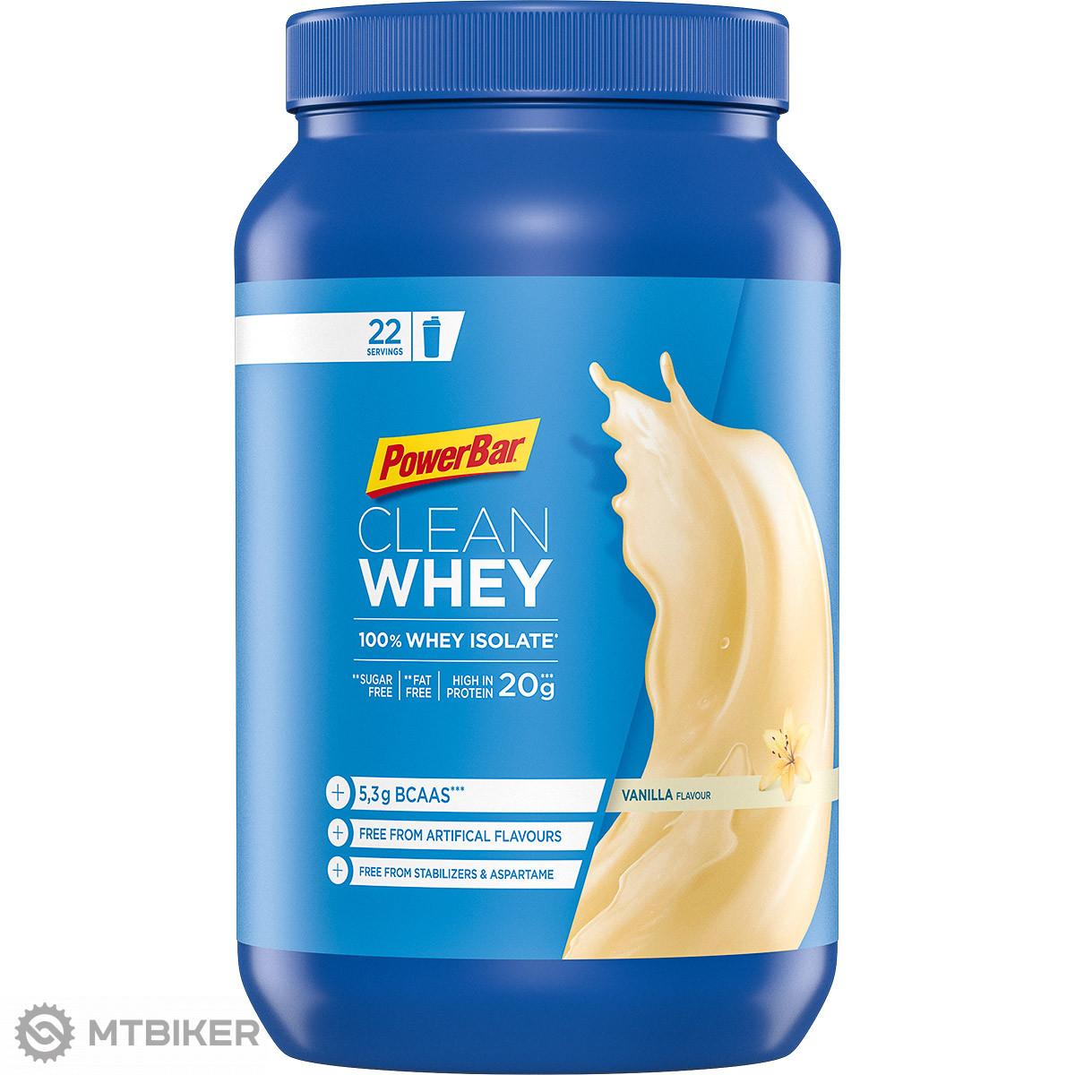 PowerBar Clean Whey 100% Čistý srvátkový izolát 570 g Vanilka