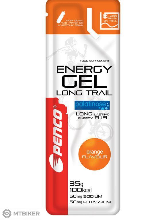 Penco Energy Gel Long Trail pomaranč 35g