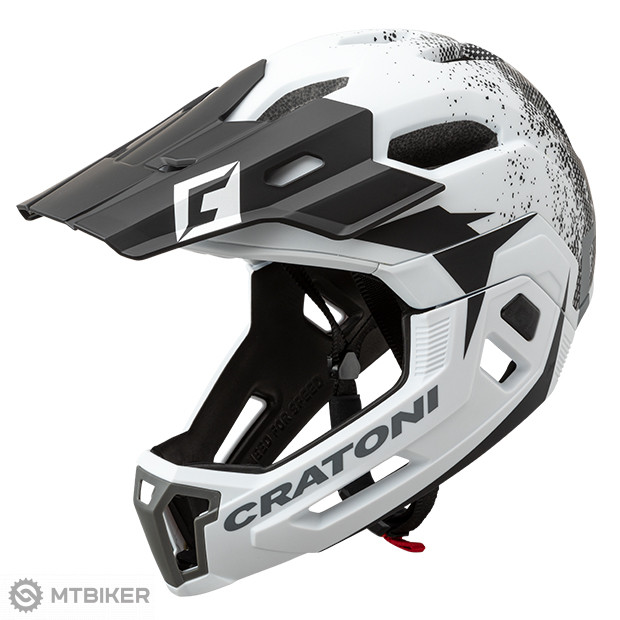 Prilba Cratoni C-Maniac 2.0 MX, model 2020, bielo-čierna