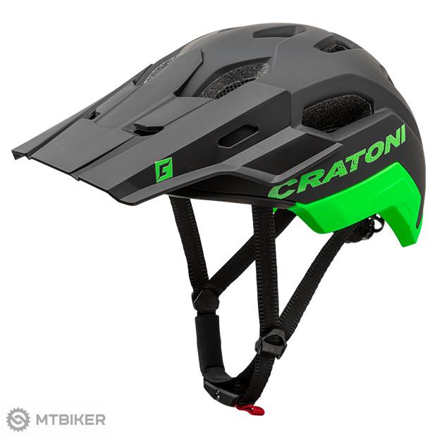 Prilba Cratoni C-Maniac 2.0 Trail, model 2020, čierno-zelená