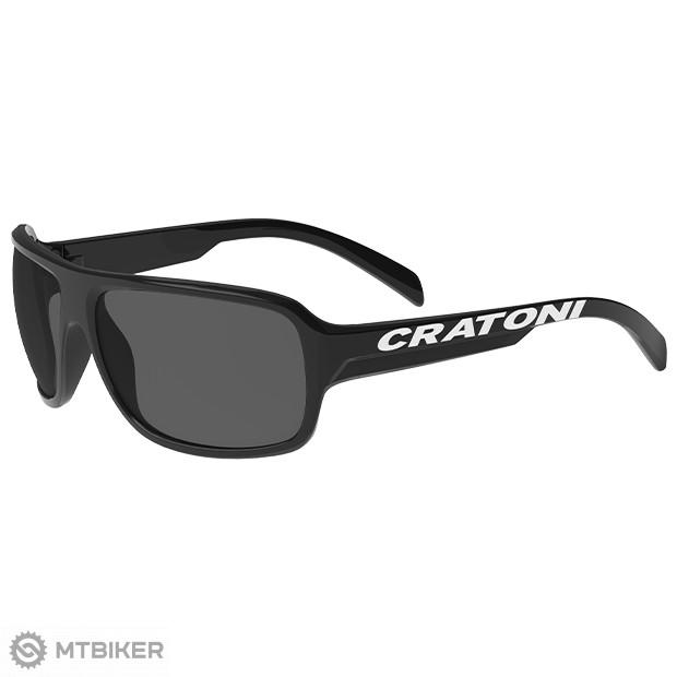 Cratoni  C-Ice Junior okuliare čierne, model 2021