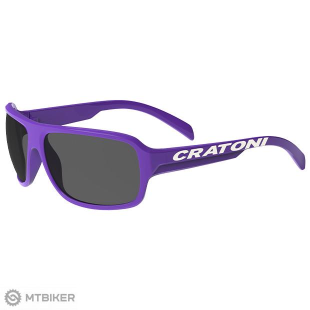 Cratoni C-Ice Junior okuliare fialové, model 2021