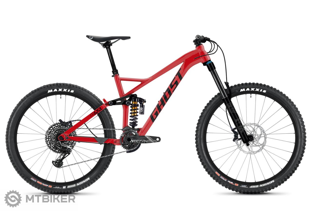 Ghost FRAMR 8.7 Riot Red / Jet Black, model 2020
